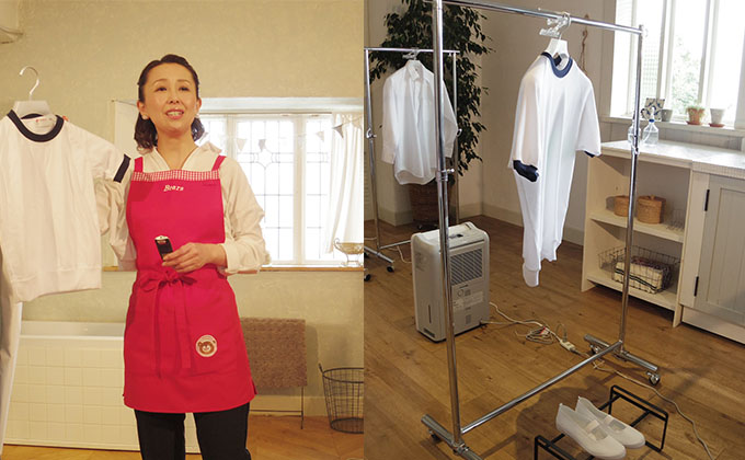 部屋干しでも数時間で乾くなんて! 梅雨に絶対ほしい衣類乾燥家電