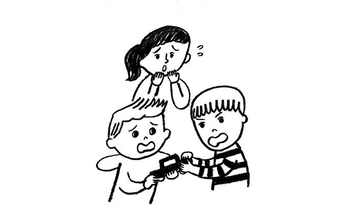 貸せない、待てない、乱暴、けんかetc. 子どものお友達トラブルSOS Vol.1