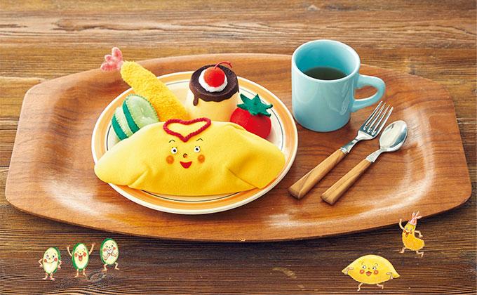 絵本『じかんだよー!』の手づくりおもちゃ「お子さまランチ」の作り方