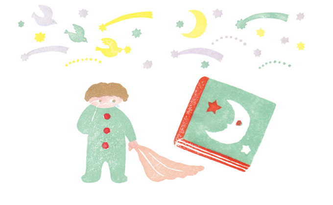 寝かしつけに絵本の読み聞かせ!眠りをテーマにした絵本10選