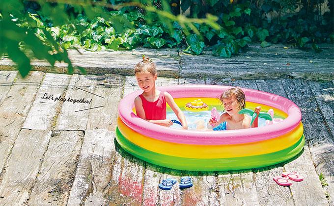 遊ぶだけで発見や学びがいっぱい【夏は毎日水遊び!・1】