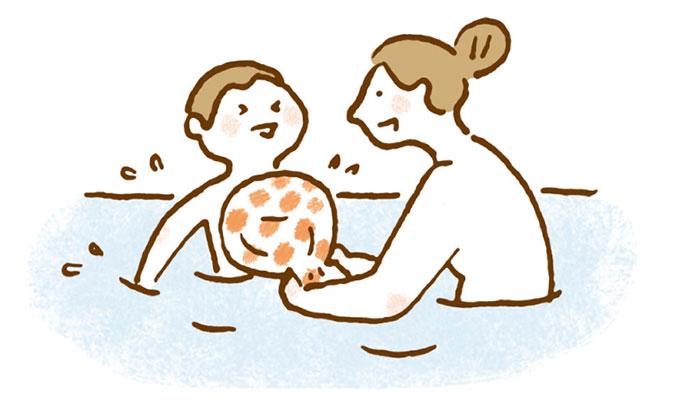 お風呂の遊び方アイディア【夏は毎日水遊び!・4】