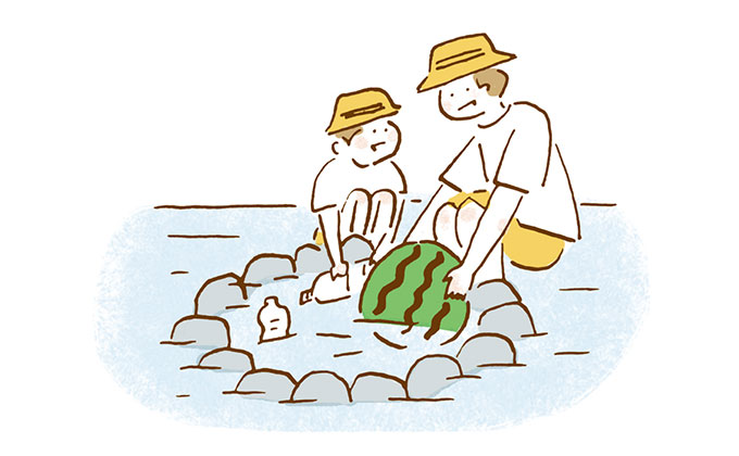 川&海の水遊びアイディア 【夏は毎日水遊び!・5】