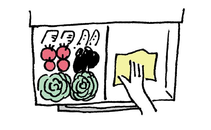 キッチンの1分掃除【すき間時間で家中ササッとキレイ・1】