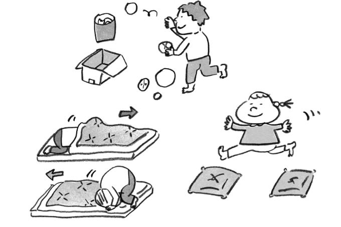 休園・休校でも、おうちの中で運動神経を伸ばせる!運動遊びサーキットをご紹介 Vo.2