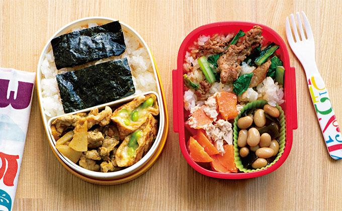 月~金を豚こまおかず弁当で!食べ飽きないお弁当レシピをご紹介【鮭&豚こまで作る2週間弁当・2】