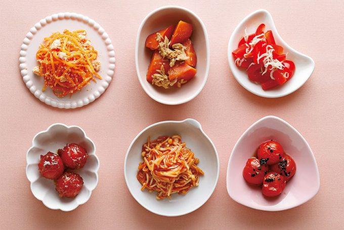 ぜんぶ電子レンジでOKの副菜カタログを色別にご紹介!~赤・オレンジ・緑色のおかず~