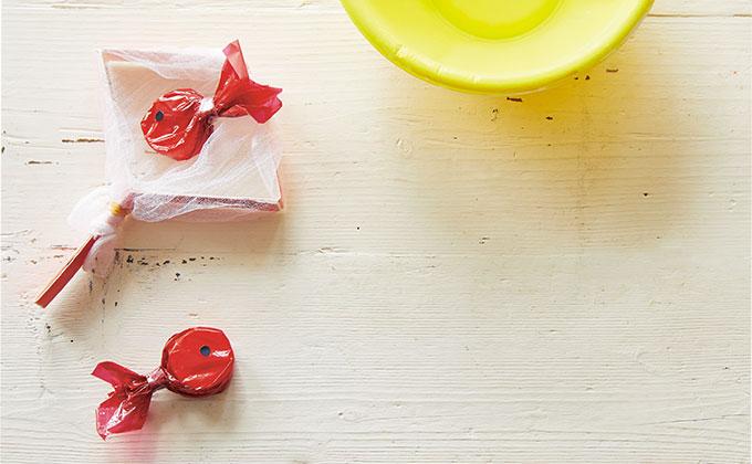 キャップと牛乳パックで作る、金魚すくいでお祭り気分を味わおう!【ハハコで楽しむ季節の暮らし・手づくり歳時記~8月~】