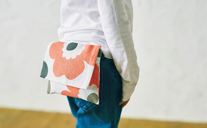 100均手ぬぐいで作ろう!外付けポケット&パンツ&きんちゃくが手縫いでできるレシピをご紹介