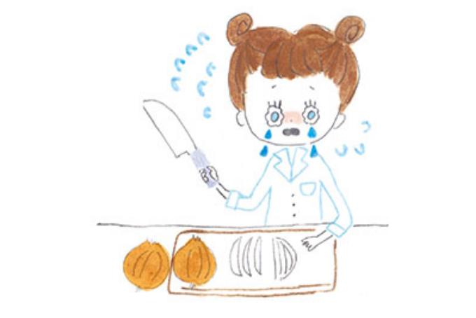 「玉ねぎを切ると涙が出るのはナゼ?」を科学で解決!【お料理を科学する・2】