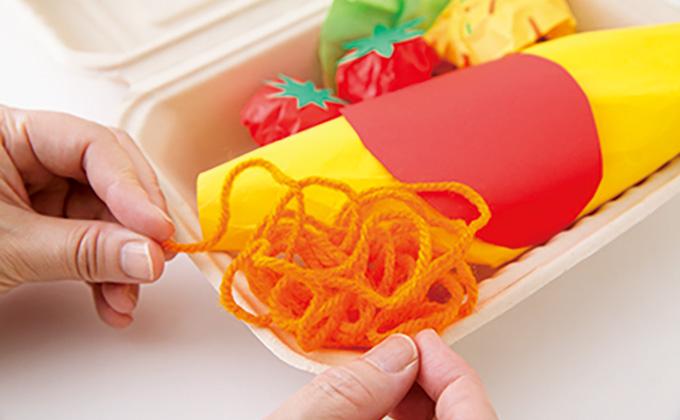 折り紙や画用紙で工作レストラン開店♪「オムライスボックス」を作ろう!【最新号からちょっと見せ】