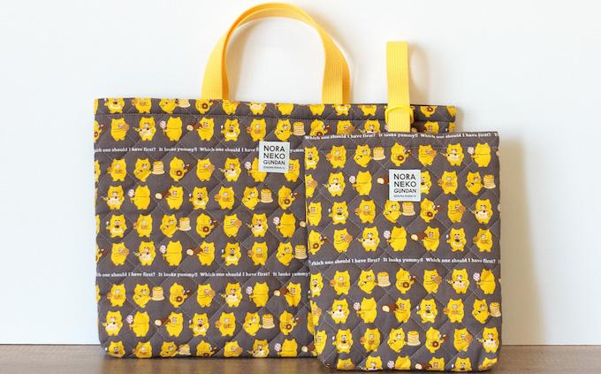 kodomoe shopより1月7日新商品のおしらせ♪「ノラネコぐんだん」 レッスンバッグ&シューズケースキットが登場!