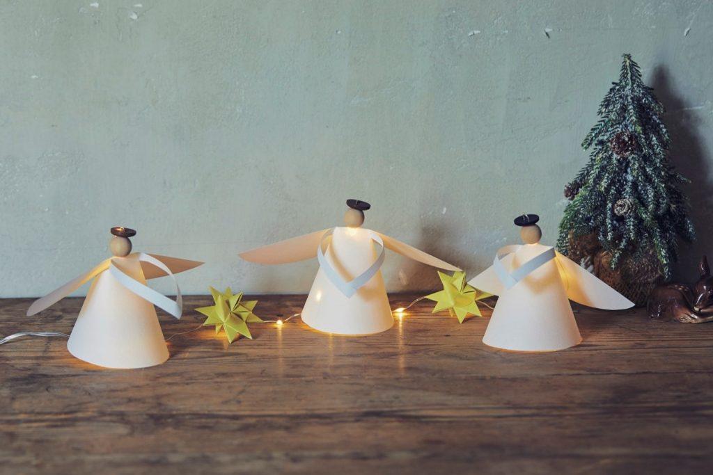 クリスマスに灯す「天使のライト」を手づくりしよう♪【型紙ダウンロード付き】