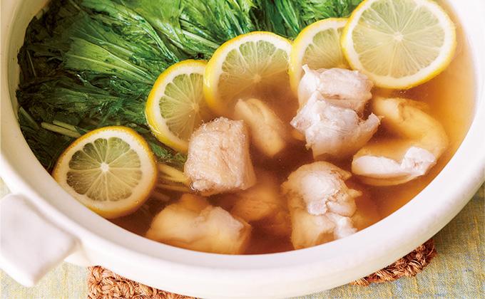 鍋は、めんつゆがあれば、だしいらず!「鶏と水菜のレモンめんつゆ鍋」【最新号からちょっと見せ】