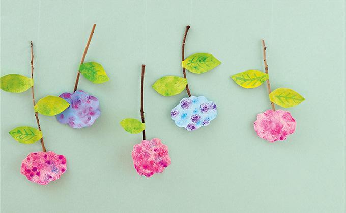 梅雨を吹き飛ばす!さかさま紫陽花の吊り飾り【中川政七商店とつくる、季節のしつらい】